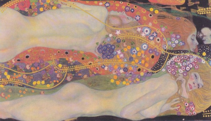 Serpents-II gustav klimt