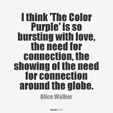 message the color purple