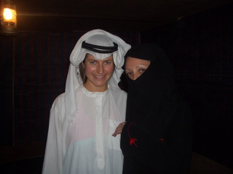 Arab lesbian girl