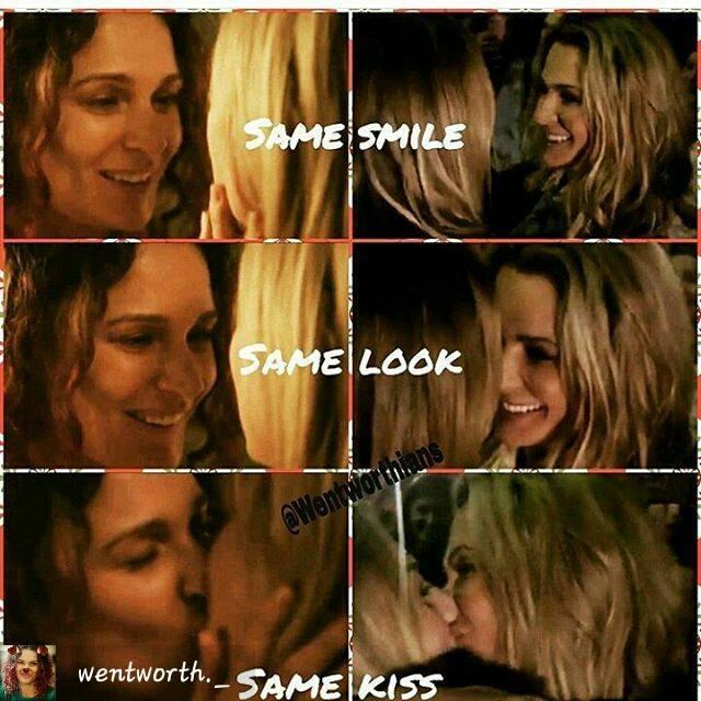 same ballie look and kiss danielle cormack