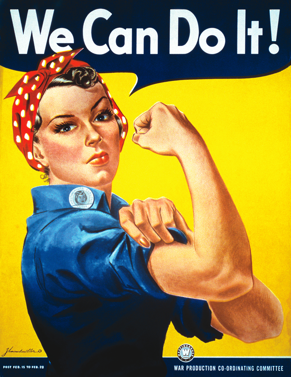 We_Can_Do_It! rosie the riveter