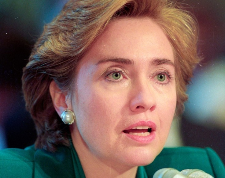 hillary clinton younger