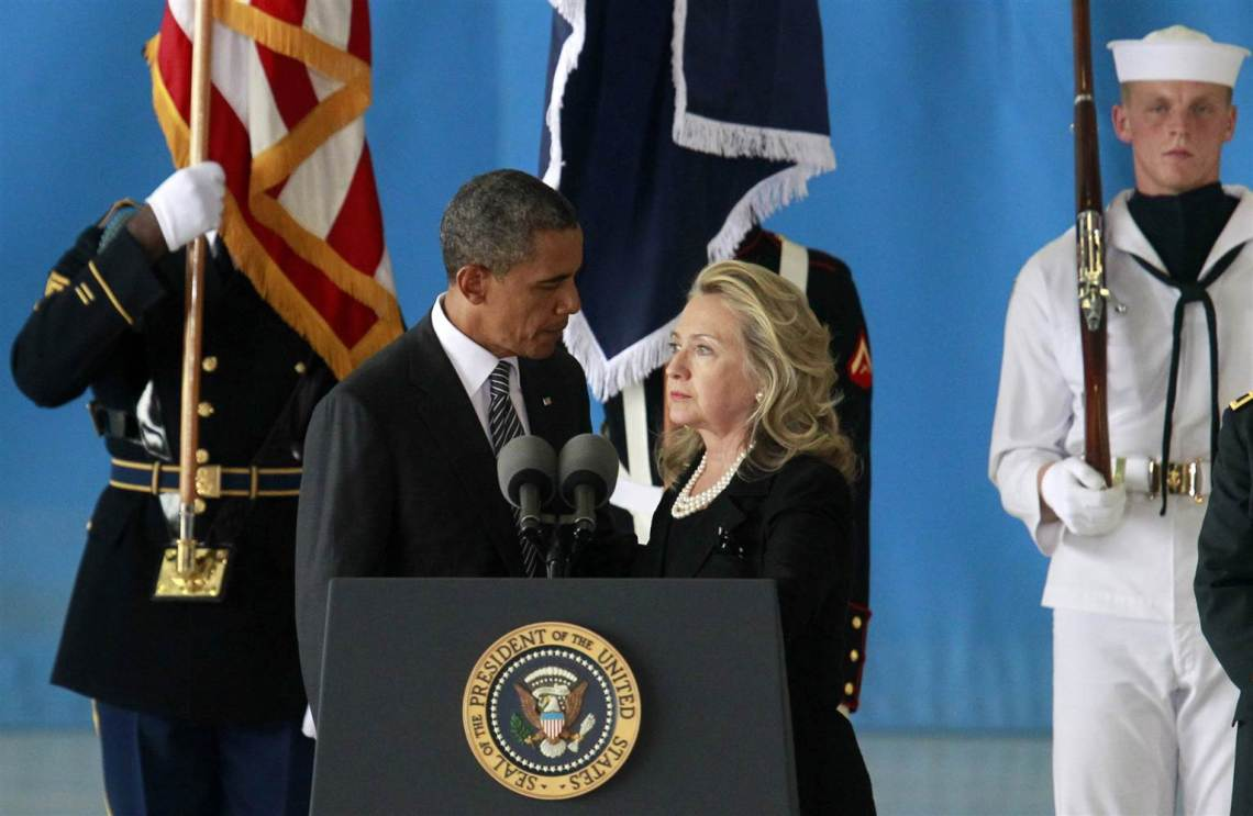 obama and hillary clinton secretary of state
