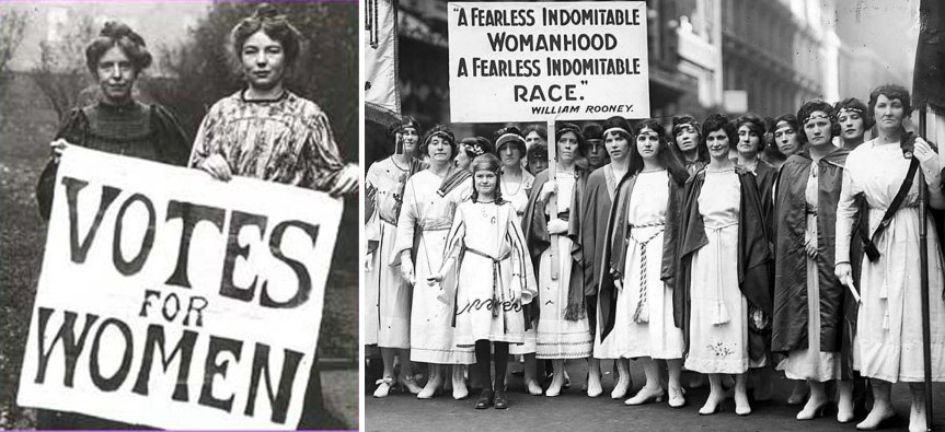 Suffragism, Sufragists and suffragettes – the movement which changed the world for both women andmen