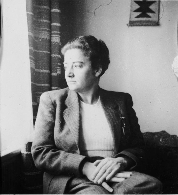portrait of Frieda Belinfante