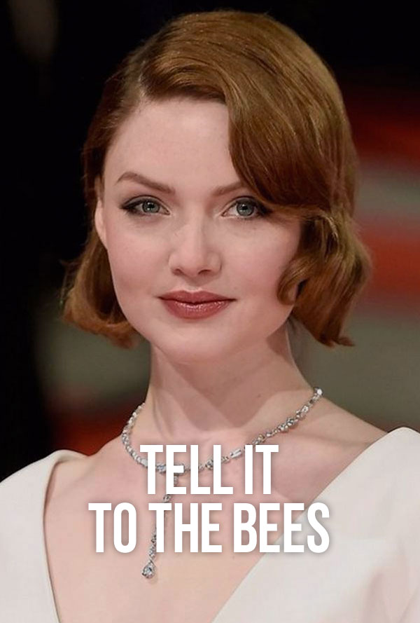 holliday grainger tell it to the bees