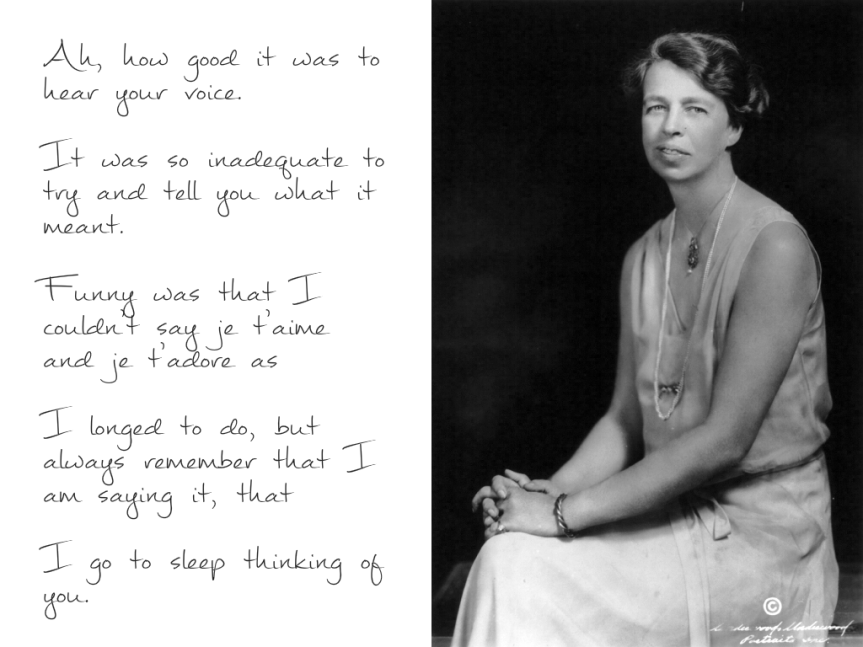 Empty Without You – The intimate letters of Eleanor Roosevelt and Lorena Hickok by Rodger Streitmatter
