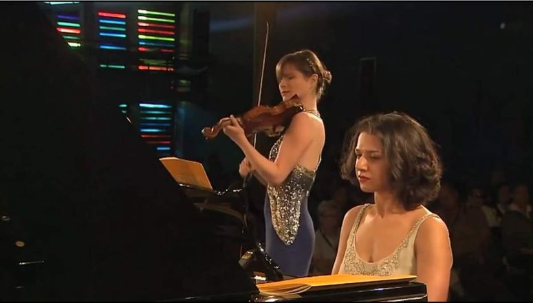 piano and violin duo