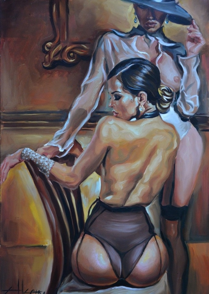 100-Handmade-Oil-Painting-Hand-NUDE-EROTIC-OIL-ROSE-LESBIAN-INTEREST-shipping-free.jpg_960x960