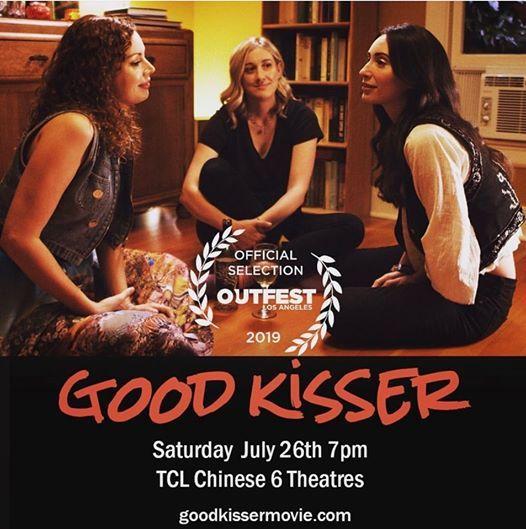 good kisser lesbian poster