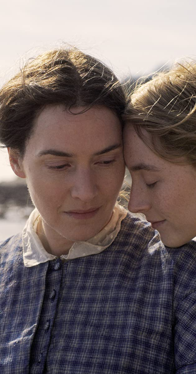 ammonite kate winslet and saoirse ronan 2